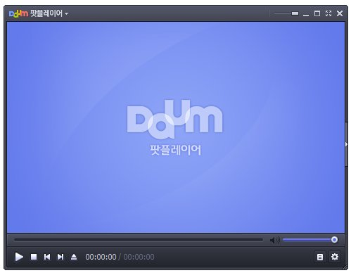 Daum PotPlayer Main Window